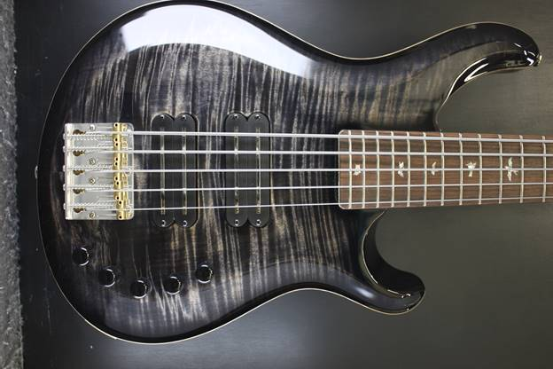Grainger 5 bass Charcoal Burst