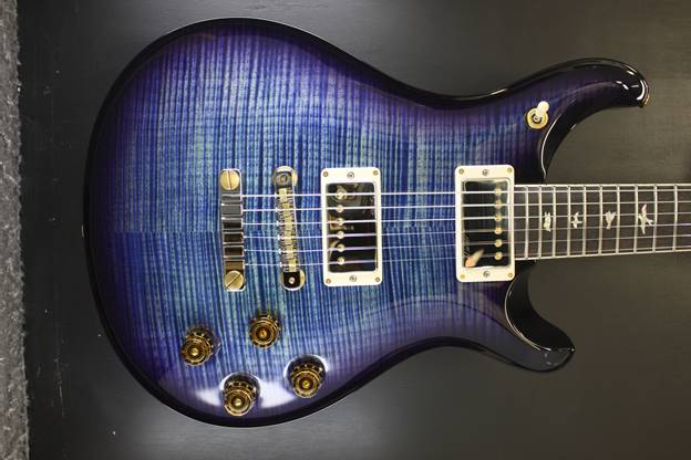 Mc594 10 top River Blue Purple Wrap Burst