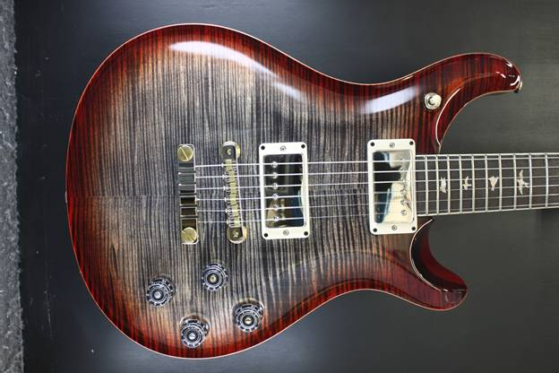 Mc594 10 Top Charcoal Cherry Burst