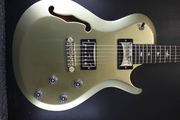 Singlecut Semi Hollow Champagne Gold Metallic
